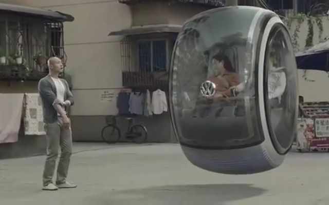 Flying car concept from Volkswagen....An extremely cool idea