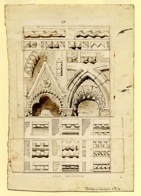 John Ruskin: Stones of Venice - Edge decoration