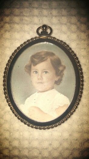 Me as a young child - scary how old this looks