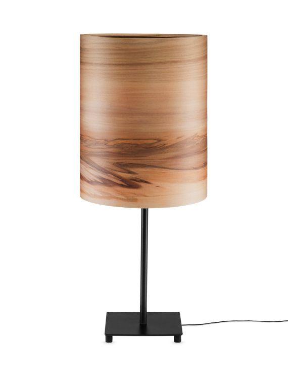 Night Lights SVEN  Bedside Light  Wood shade  by Sponndesign