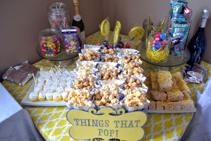 baby shower things that pop table baby shower ideas pinterest