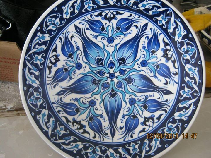 Ceramic plate ceramic tile çini tabak
