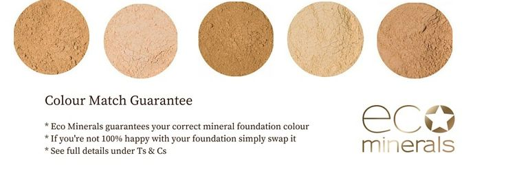 Take advantage of our colour match guarantee on all our Eco Minerals foundations. If you're not completely happy with your colour please email us hello@ecoboutique.co.nz send back your freshly opened container and we will send you out a new shade. These foundations are 100% pure minerals from Byron Bay with SPF 24 and anti aging properties. We know you will love them! Check out the range on our site now!