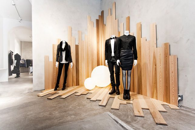 :: RETAIL :: INTERIORS :: FASHION :: love the new Filippa K retail interiors, Oslo Flagship Store #retail #interiors #fashion