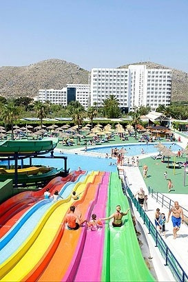 Club Mac Alcudia Hotel in Majorca. Waterpark comes with it!