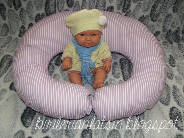 Bebek emzirme ve destek yastığı