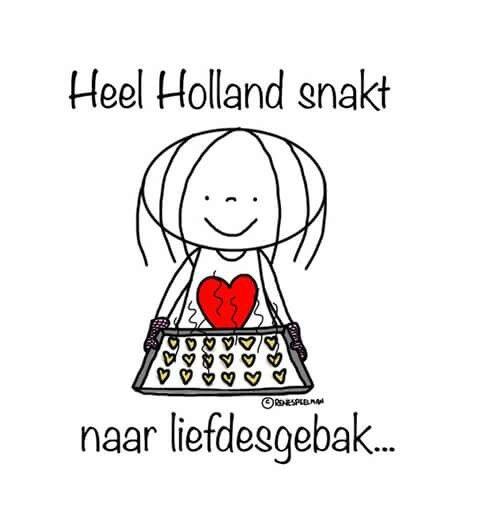 Heel Holland snakt...