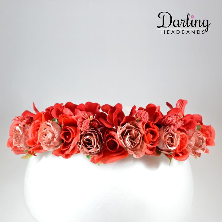 17 Best Ideas About Black Flower Crown On Pinterest: 17 Best Ideas About Red Flower Crown On Pinterest