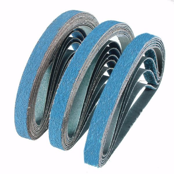 10pcs 40 To 80 Grit Zirconia Sanding Belts 13x457mm Abrasive Grinding Tool Tool Accessories From Tools Industrial Scientific On Banggood Com Rings For Men Zirconia Belt