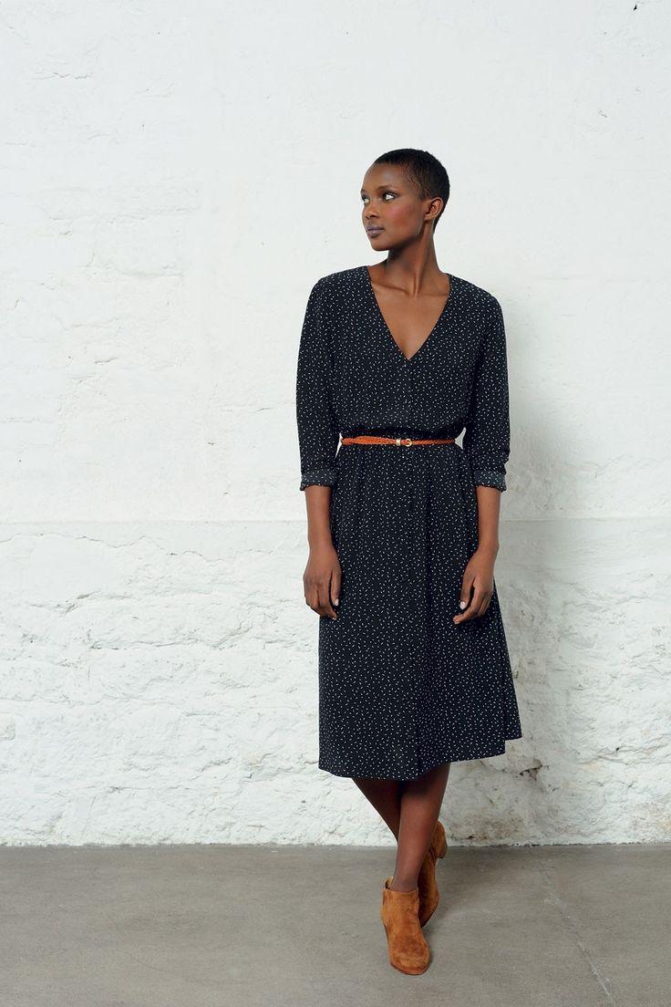 Robe scarlett ombre - robe - des petits hauts 1
