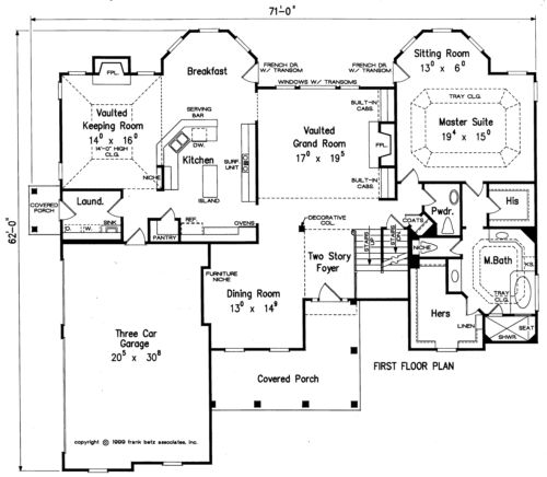Fenway home plans and house plans by frank betz for Frank betz floor plans
