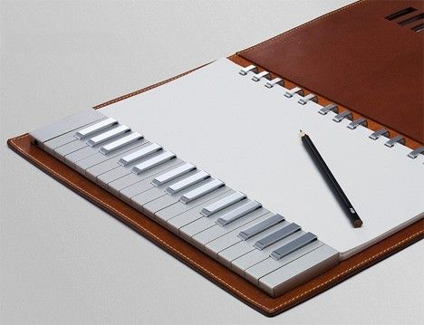 Yamaha's notepad / keyboard hybrid concept: a songwriter's dream