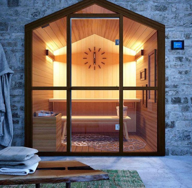 NEU: Finnische Sauna durch GLASS 1989 - GLASS 1989