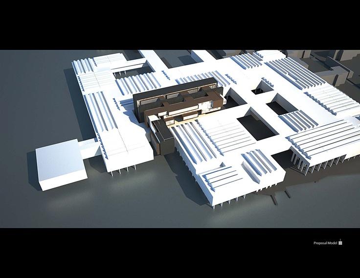 Le Corbusier Hospital Venecia 1965