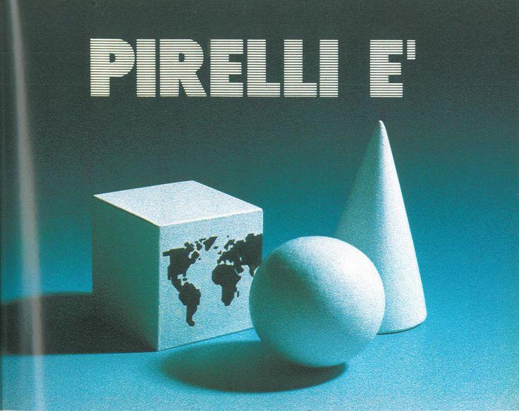 Pirelli ad, 1986 Scan