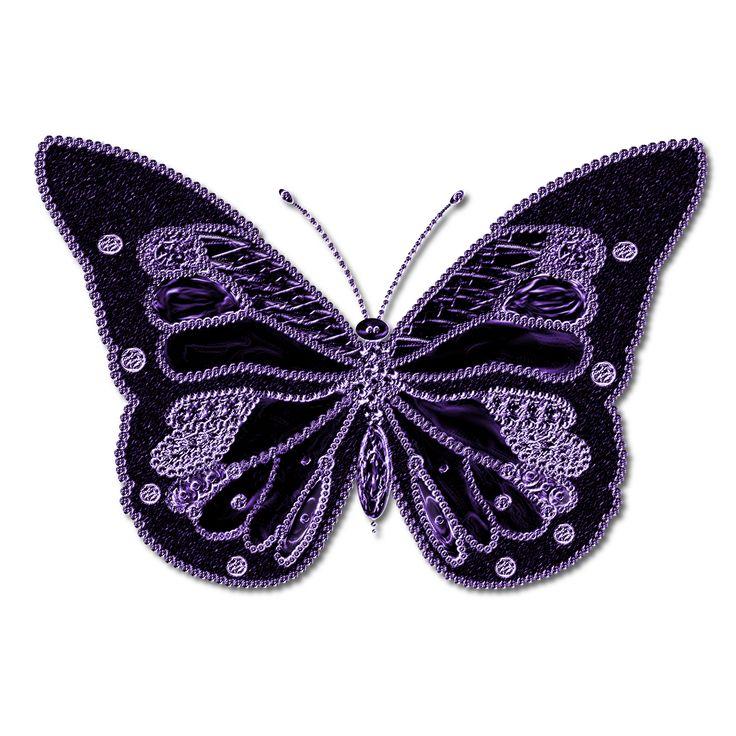 Purple Butterfly Scroll Clip Art At Clker Com: Best 11 Purple Butterfly Clip Art Ideas On Pinterest