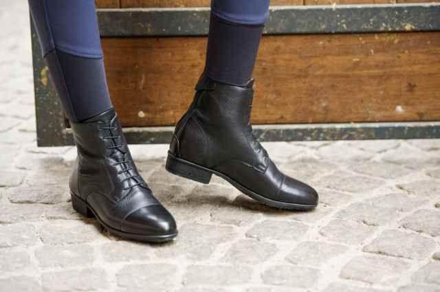 Stivaletti equitazione modello Primera in pelle ruvida by Equi-Thème
