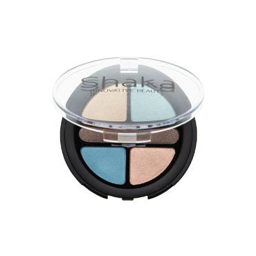 Palette ombretti Shaka, colori intensi e luminosi, formula setosa e delicata. Finish satinato, perlato e matt.