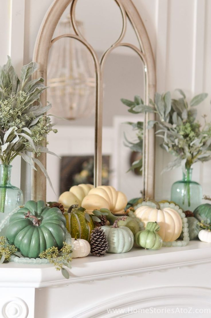 diy home decor fall home tour - Fall House Decorations