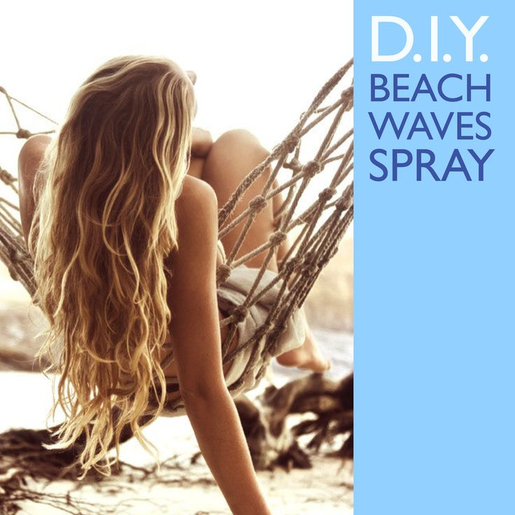 We all wish we could spend all day at the beach and get perfect hair. But it just isn't possible. Which is why we have this tutorial for you on how to make your own sea salt spray for beachy waves. #TutorialTuesday #StayAmazing