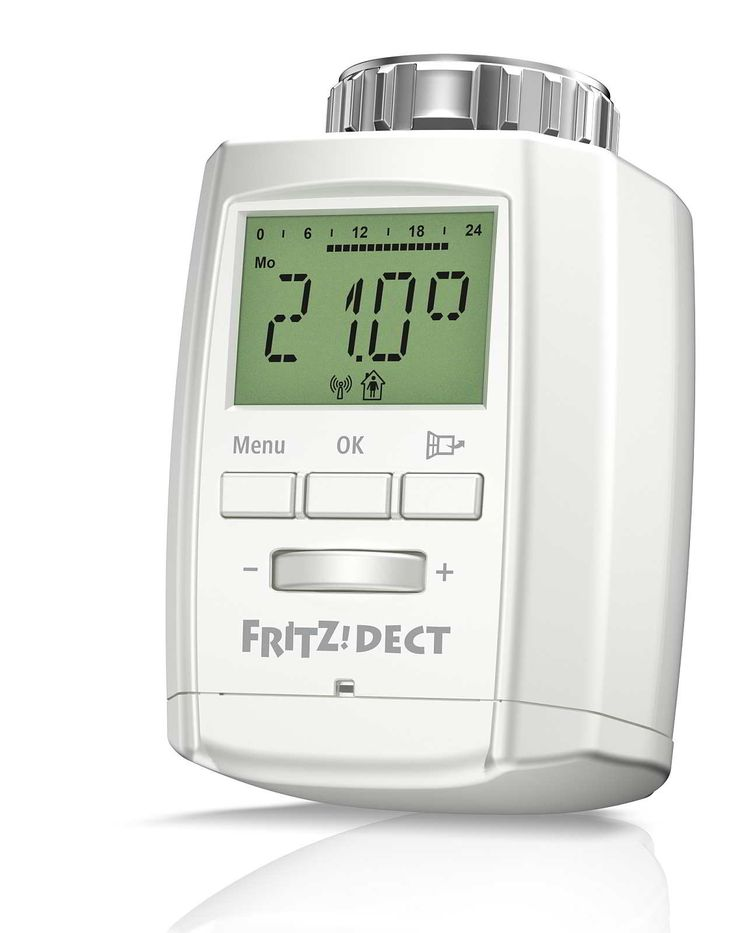 AVM FRITZ!DECT 300: Smarter Heizkörperthermostat und verschlüsseltem DECT-ULE-Funk. (Bildquelle: AVM)