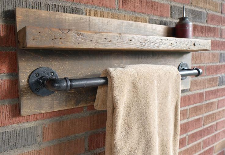 17 mejores ideas sobre estante de toallas en pinterest for Estante porta toallas para bano