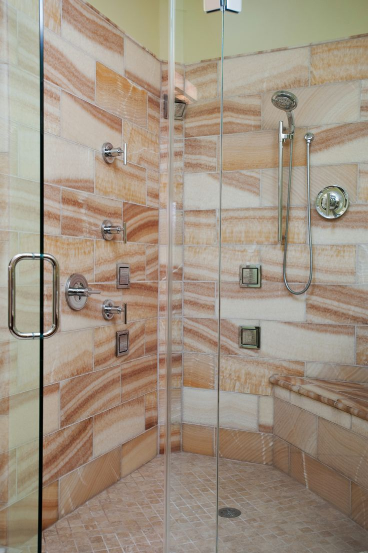 Large Walk In Shower With Glass Surround All The Whistle And Bells