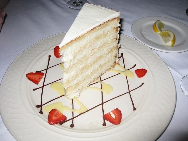 coconut cake - Peninsula Grill | Flickr - Photo Sharing!