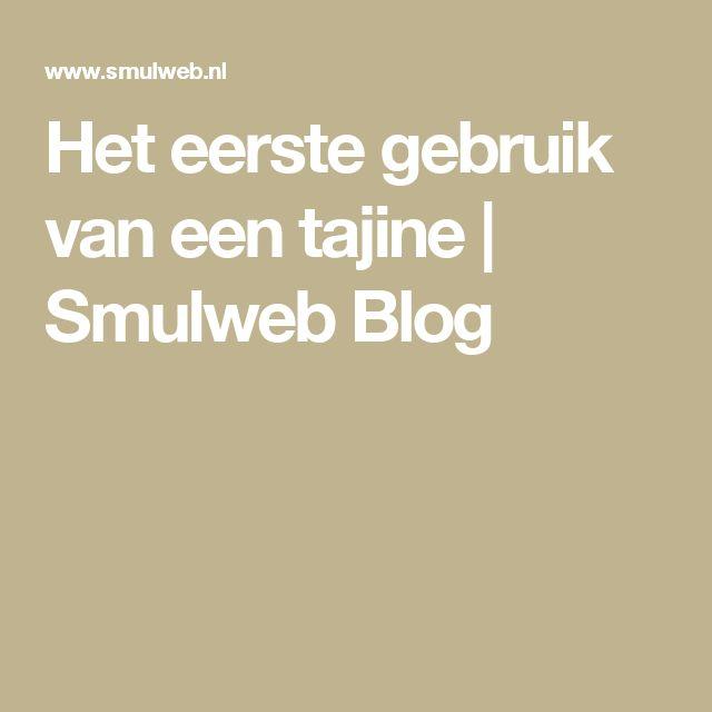 Het eerste gebruik van een tajine   Smulweb Blog