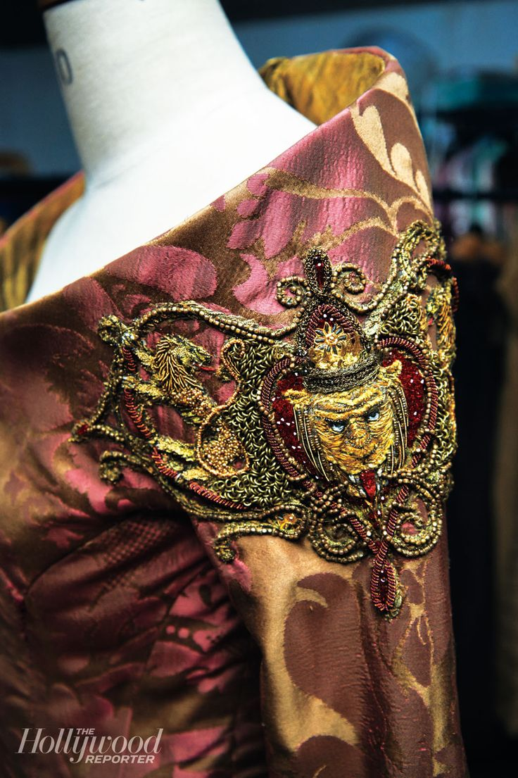 "From ""Game of Thrones"" worn by Lena Headey as Cersei Lannister design by Michele Clapton"