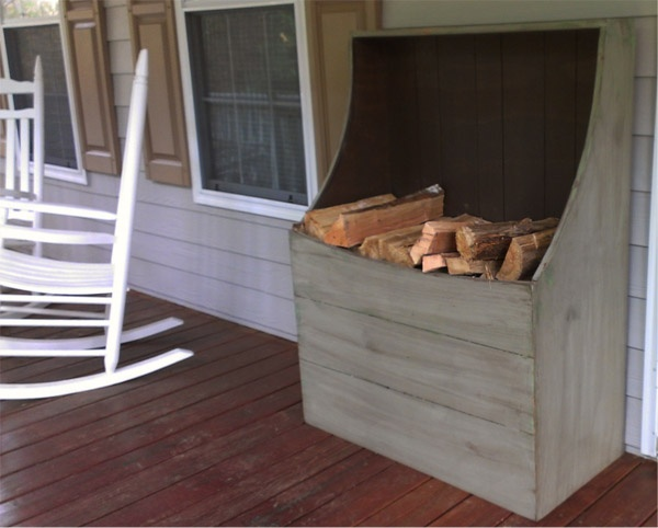 Wood Box For Wood Stove Or Fireplace Small House Living