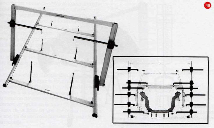 Utilización del compás de varas del automóvil Glosario y Manuales