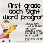 Here is the first grade dolch sight word program that I have used in my own classroom with unbelievable success!!  I created a five week program th...