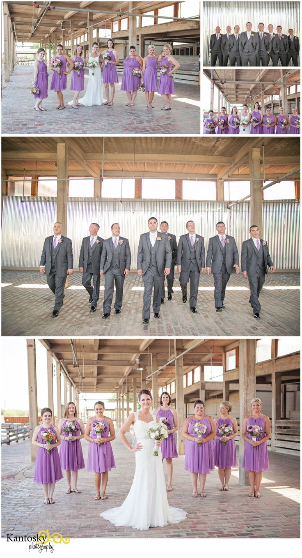 black white purple wedding reception%0A Stockyards wedding   Wedding Party Pictures