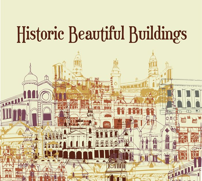 Historic Beautiful Buildings by Cayley Baker