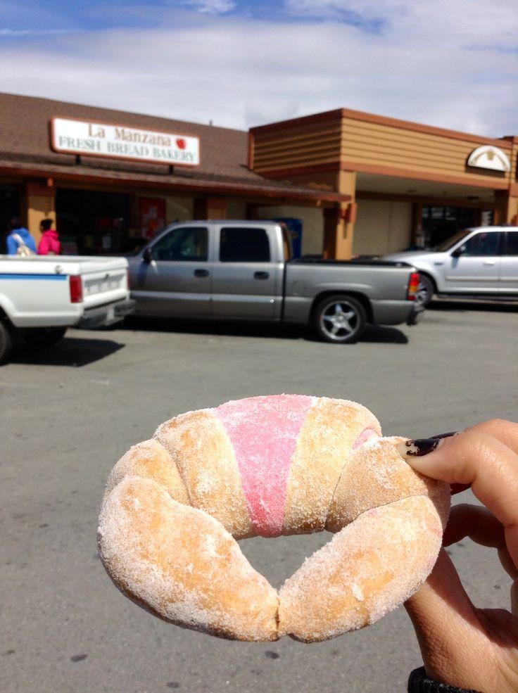 Cuerno (horn) pan dulce // Watsonville, ca