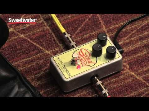 Overdrive/Distortion Pedal for Electric Guitar with Volume, Drive, and Treble Controls