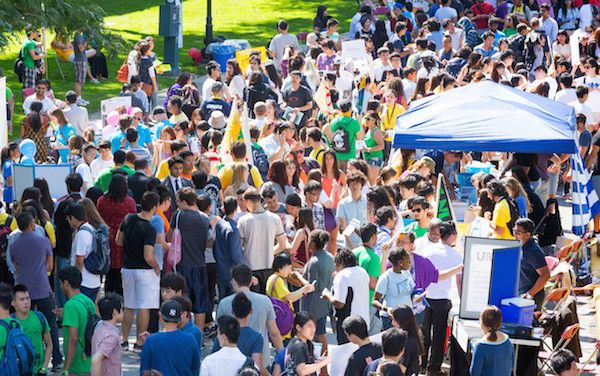 Will my walk with Jesus survive university? | Power to Change - Students | Photo credit - frosh crowd by G Ting