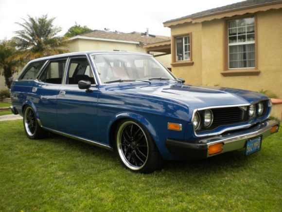 This scarce 1974 Mazda RX4 5-speed rotary wagon is said tobe a rustfree 2-owner California car.Theseller adds thatthe carfeatures new paint, a recently upgraded and rebuilt 13b motor, and has but a few minor needs to be perfect. Find it here on eBay in Los Angeles, California.