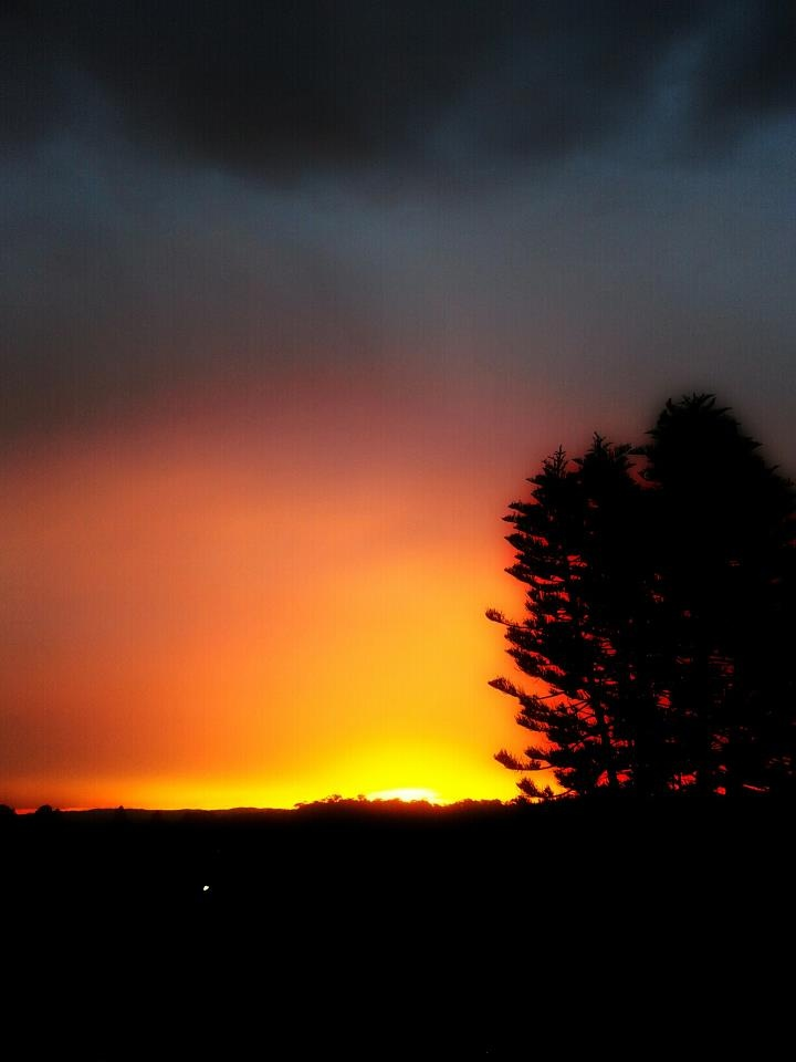 Burning clouds  Photography Gerard Kambeck 2012