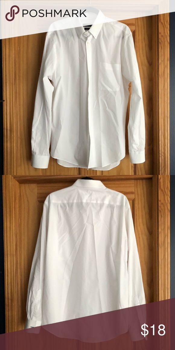 Tommy Hilfiger Men S Dress Shirt 16 1 2 34 35 Tommy Hilfiger