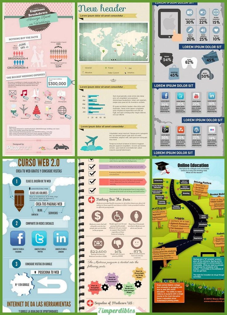 crea tus infograf u00edas con piktochart