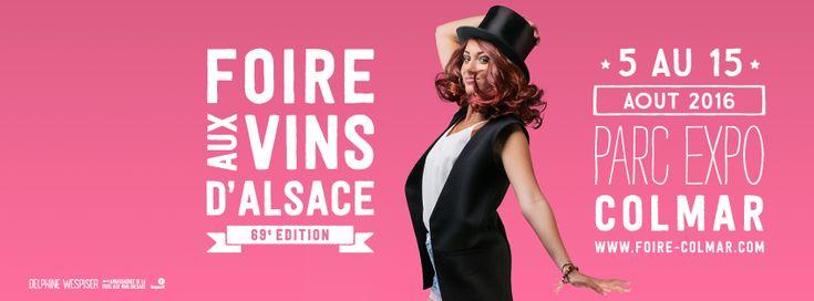 Programmation 2016 de la Foire aux Vins d'Alsace - Imaginalsace