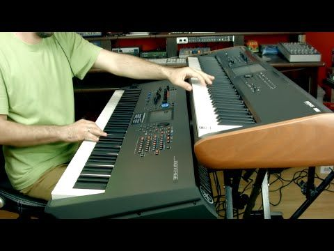 Korg Kronos VS Yamaha Montage Strings - YouTube