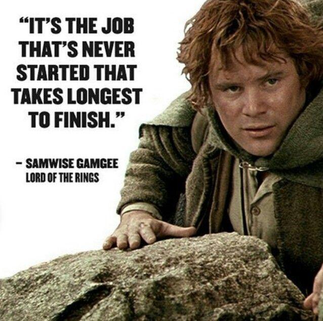 Uplifting gandalf quotes