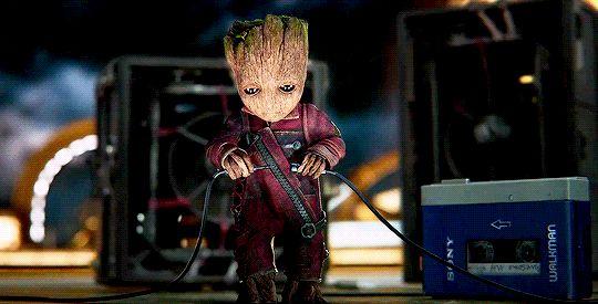 Baby Groot!