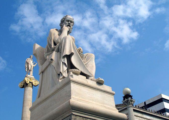 Ζητώντας ελεημοσύνη από ένα άγαλμα…