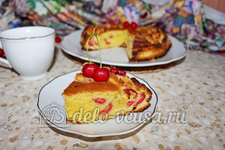Кекс с #вишней #выпечка #кекс #рецепты #деловкуса #готовимсделовкуса