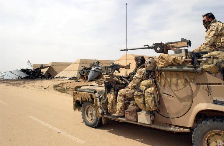SASR Al Asad Air base Western Iraq