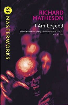 I Am Legend - Richard Matheson.  Robert Neville is the last living man on Earth... but he is not alone. Every other man, woman and child on the planet has become a vampire, and they are hungry for Neville's blood.  By day he is the hunter, stalking the undead through the ruins of civilization. By night, he barricades himself in his home and prays for the dawn.  How long can one man survive like this?